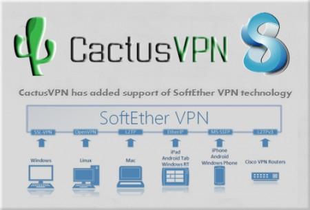 CactusVPN SoftEtherVPN Protocol