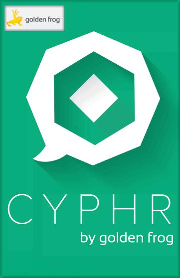 Golden Frog Cyphr