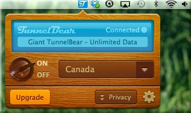 Mac app - connected bear