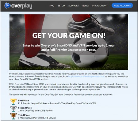OverPlay Promo Get Your Game On