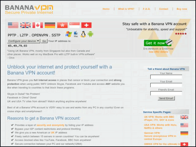 Banana VPN Review