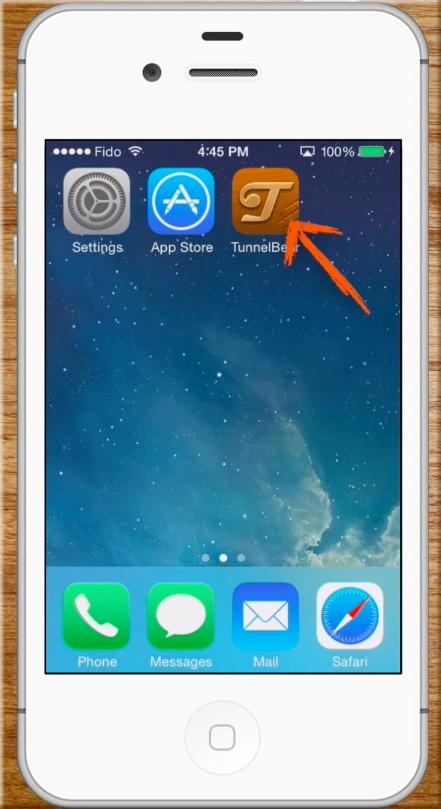 TunnelBear iOS app icon