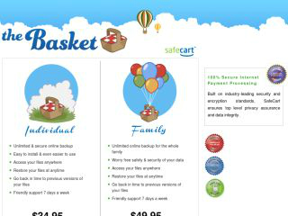 Basket Cloud Storage Review