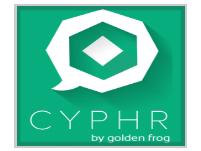 Cyphr Golden Frog Logo