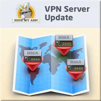 HMA New Servers