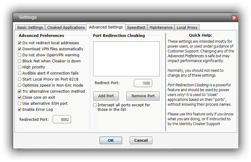 IDCloakerAdvancedSettings