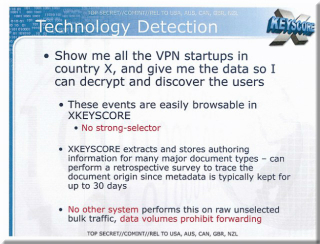 NSA Monitoring Can Track VPNs and Documents