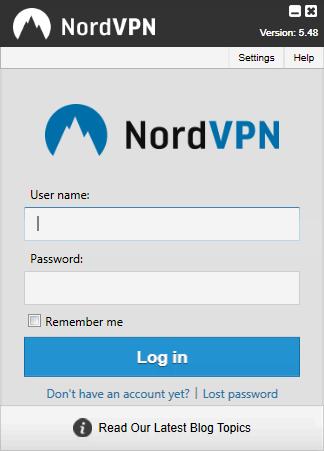 NordVPN Login