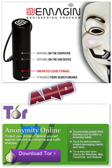 Wemagin VPN and TOR