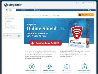 Steganos VPN Review