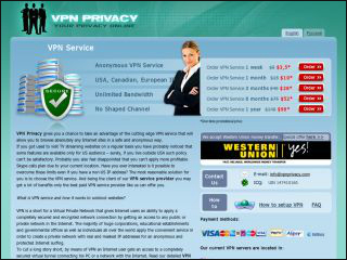 VPNPrivacy Review